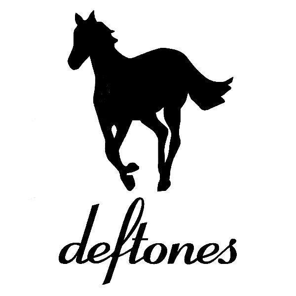 Deftones 2 Band Vinyl Decal Stickers Prosportstickers Com
