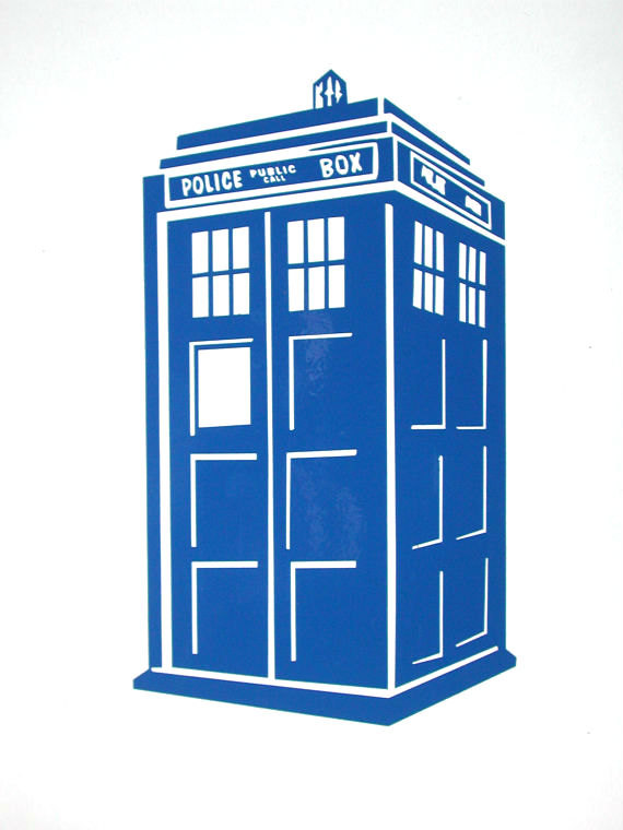 Dr Who Phone Booth 3 Prosportstickers Com