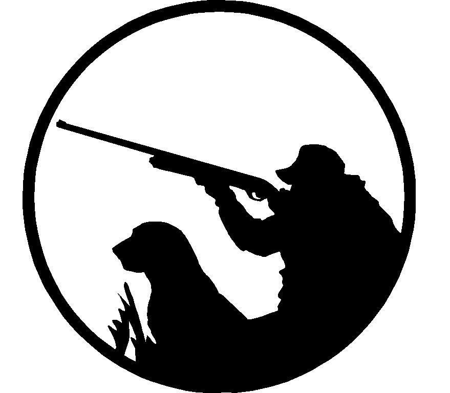Hunter With Dog Adhesive Car Sticker 2 Prosportstickers Com