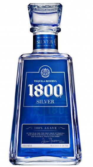 1800 Silver Tequila Bottle Sticker Prosportstickers Com