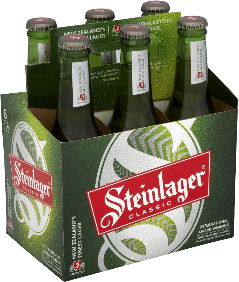 Steinlager New Zealand. Beer, Alcohol, Ale