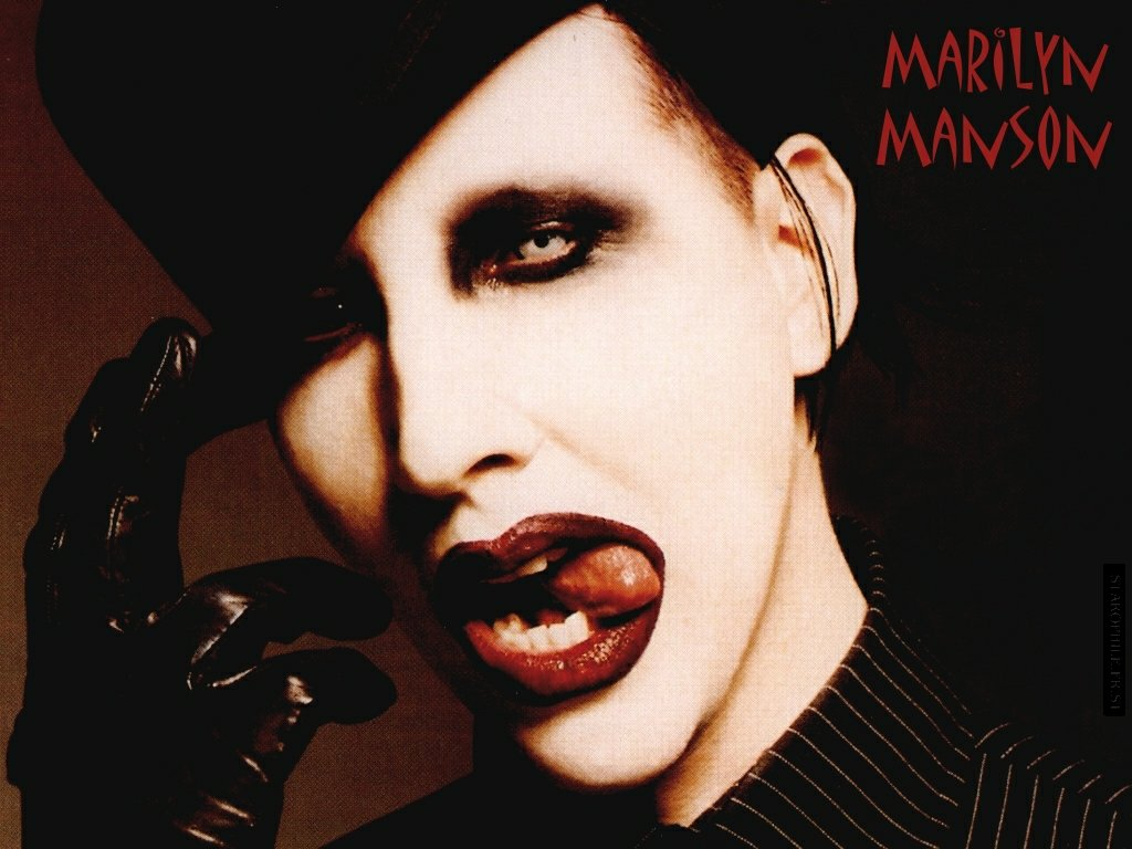 Marilyn Manson Color Band Decal Prosportstickers Com