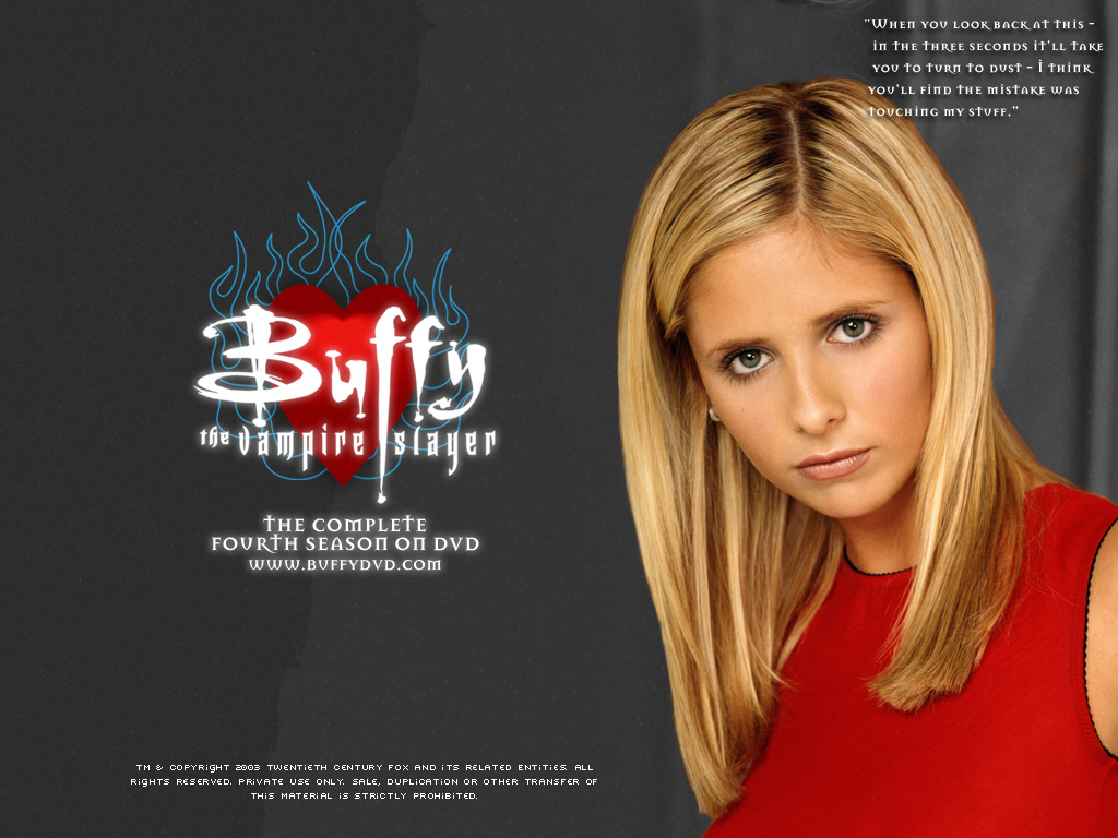Buffy The Vampire Slayer Tv Series Sticker Sarah Michelle