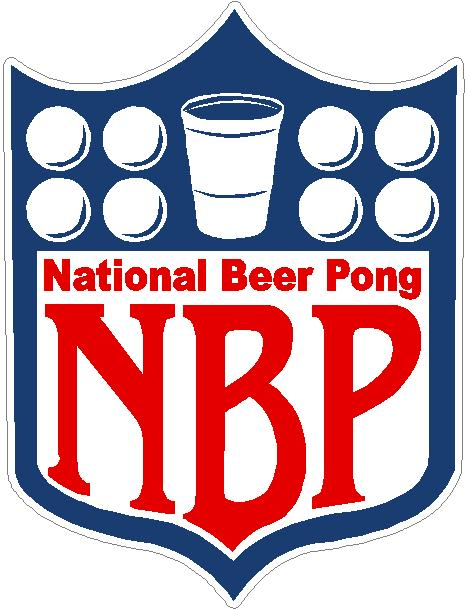 National Beer Pong Logo. Click to enlarge. RRP: Price: $4.95 (including tax)