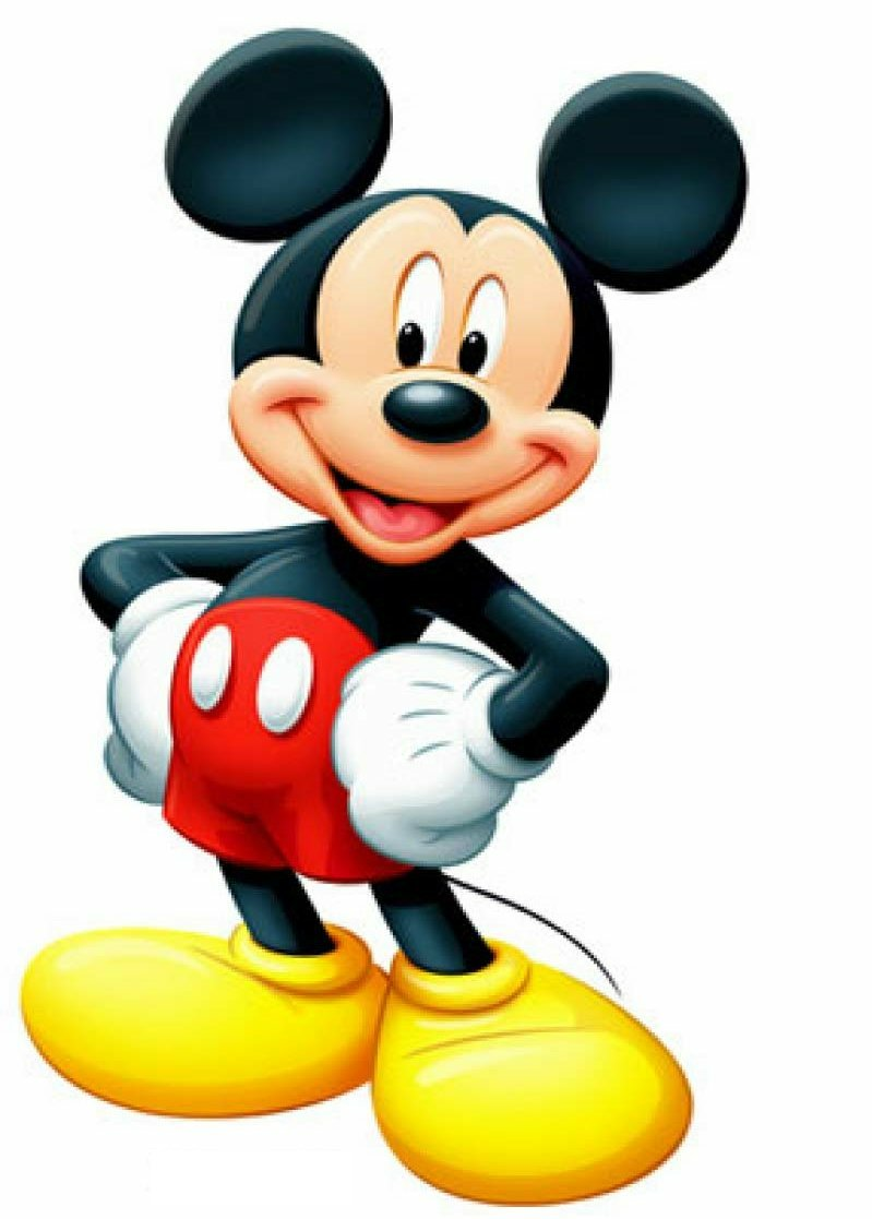 Mickey Mouse Decal Color Prosportstickers Com