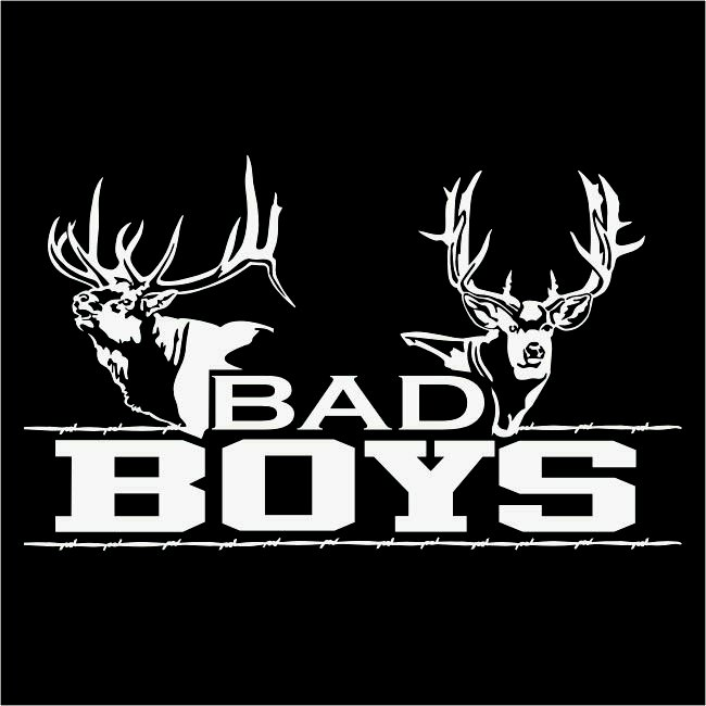 Bad Boys Hunting Sticker Prosportstickers Com