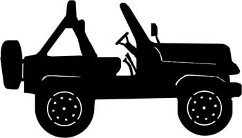 Download Jeep Convertable Decal - ProSportStickers.com