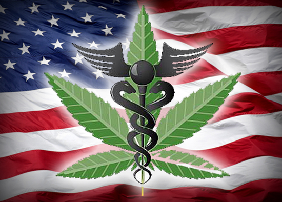 American Flag Medical Weed Sticker Prosportstickers Com