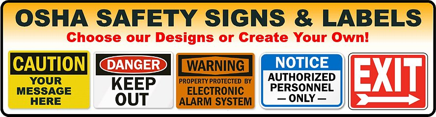 Signs & Labels Stickers