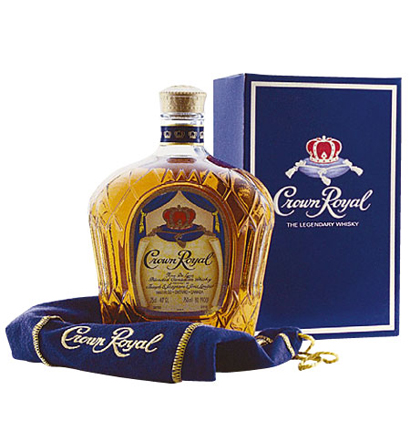 Crown Royal Bottle Box And Bag Decal Sticker