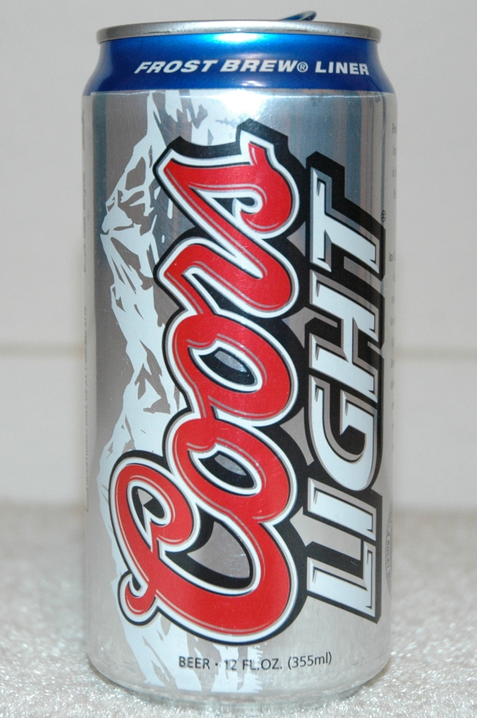 Coors Light Beer Can Prosportstickers Com